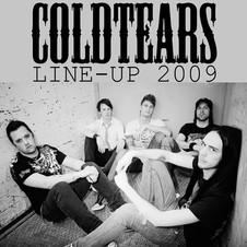 LINEUP 2009_ Rickard Johnsson, Marcus Dahlström, Gustav Alander, Martin Färdigh, David Johansson #coldtears #metal #old #lineup #band #music