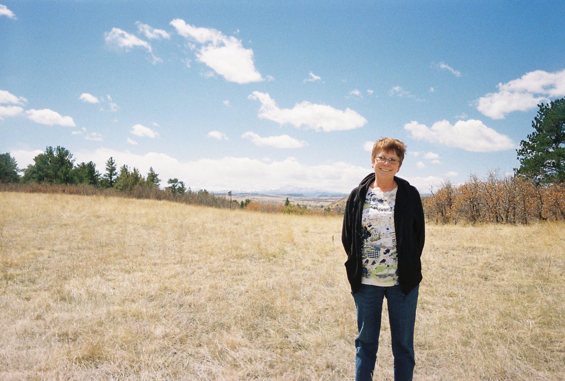 Pat Feldmeier at Castlewood Canyon