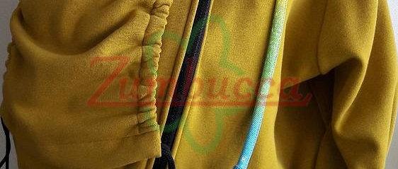 Sweatshirt custom- tailored