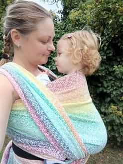 Zumbucca hand woven baby carrier