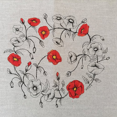 Hand painted Poppies2