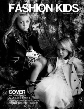 FASHION KIDS MAGAZINE COVER