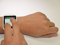 The Personal Identification Chord: A Four Button Authentication System for Smartwatches