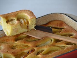 Gâteau minute aux pommes