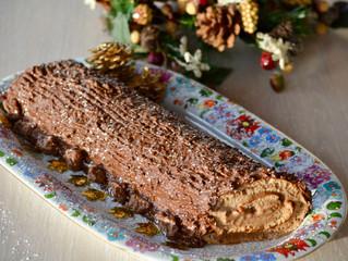 Bûche de Noël Ovomaltine