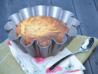 Gâteau au sérac sans farine