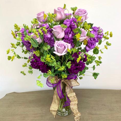 Purple Rose Mix