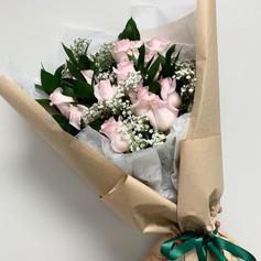Blush Dozen Roses
