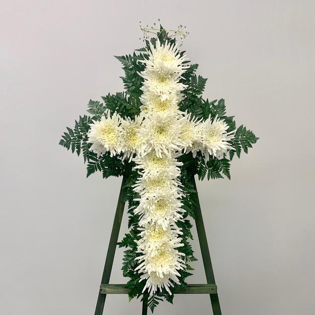 Mum Flower Cross