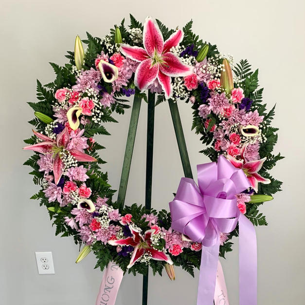 Lilly Wreath