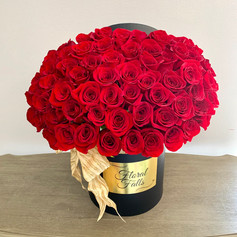 Boxed 50 Roses
