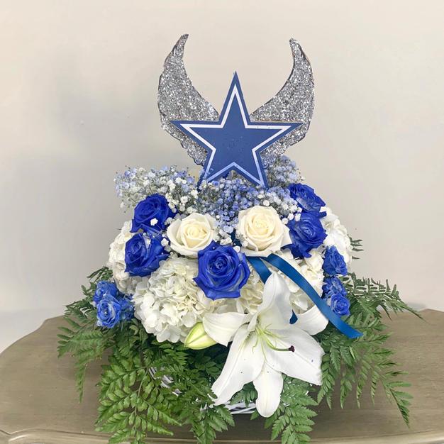 Cowboy Fan Basket