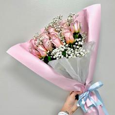 1dz Pink Roses