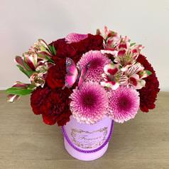 Small Box with Chrysanthemum