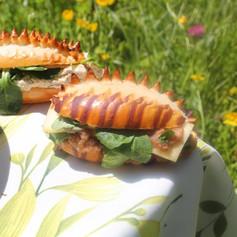 Mini sandwitch du Curé