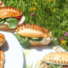 Mini sandwitch de la mer