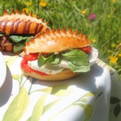 Mini sandwich poivron