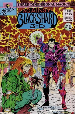 Against Blackshard 3-D #1 FN 1986 by Ray