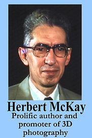 3-D Legends Hall of Fame Herbert McKay -