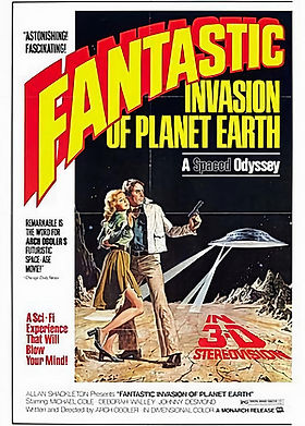 Fantastic Invasion of Planet Earth poste