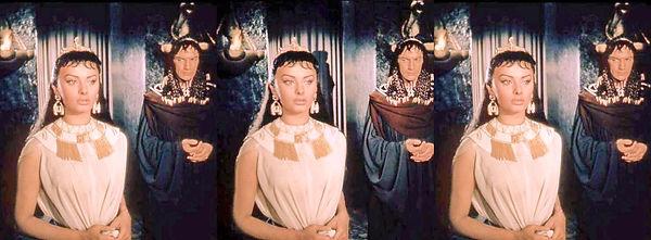 SophiaLorenAsCleopatra3byKarlStruss from