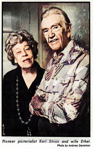 1977 LA Times Karl and Ethel Struss by A