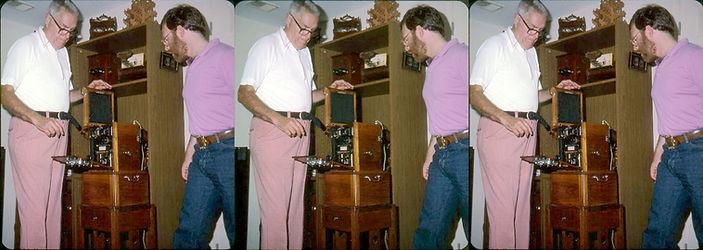 1984 Paul Wing Jr and David Starkman wit