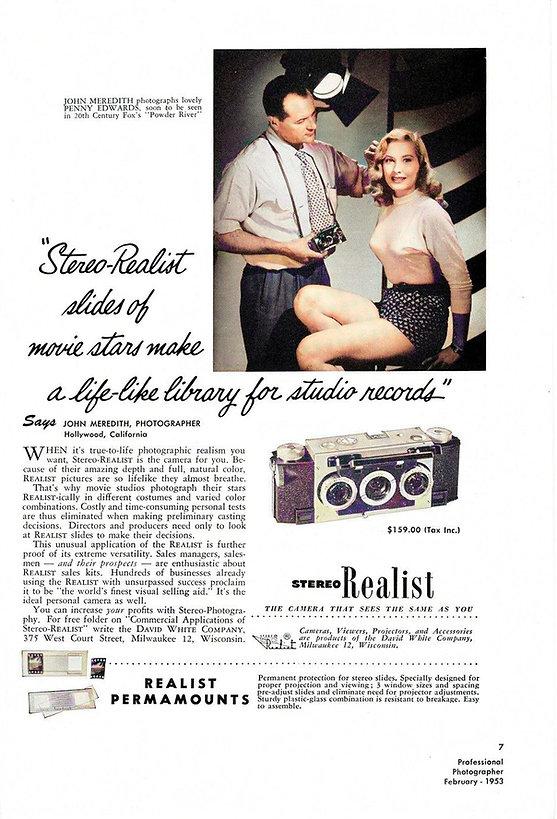 1953 John Meredith Professional Photogra