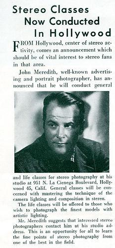 1953 March The Realist News John Meredit
