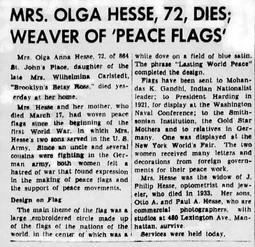 1942 Olga Hesse mother of Paul Hesse Obi