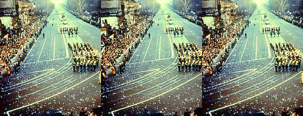 IkeParalIke Inaugural Parade band with ticker tape.jpg