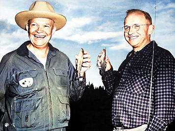 Eisenhower with Aksel Nielsen with fish-Colorized-Enhanced.jpg