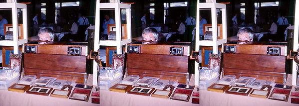 1985 Mike Kessler at NSA Trade Show hidi
