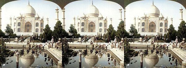 Taj Mahal Agar Indian by James Ricalton-