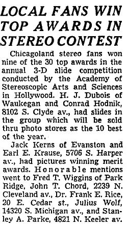 1953_06_12 Chicago Tribune, Local fans w