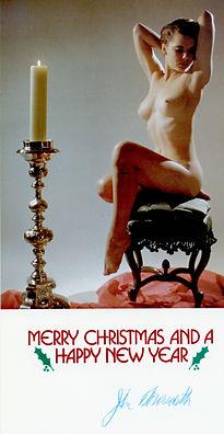 1980 John Meredith Christmas Card to Sus