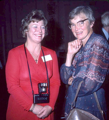 1983 ISU Buxton Valerie Lowe and Pat Whi