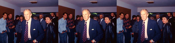 1990 House of Wax Vincent Price and Gail