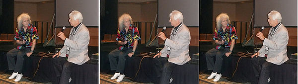 2012 Ray Zone interviewing Brian May at