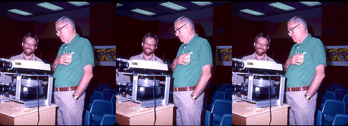 1982 Paul Wing Jr and David Starkman in
