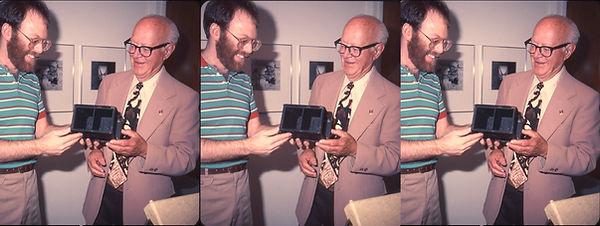 1985_Seton_Rochwite_donation_with_David_