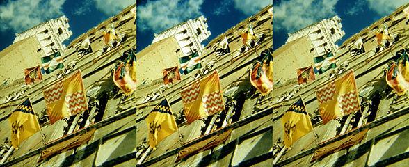 Siena Palio Celebration by Karl Struss.j