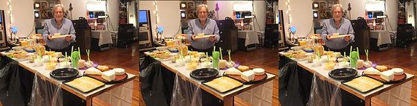 Sheldon Aronowitz at Gerald Marks home b