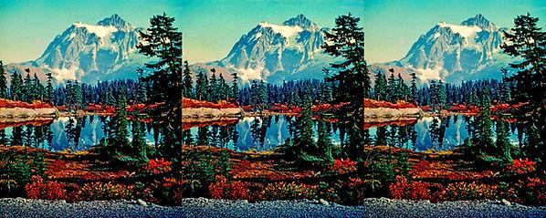 1952 Academy StereOscar Mt Shuksan by Ro