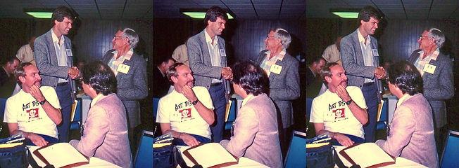 1985 Tony Alderson, Steve Aubrey, Allan