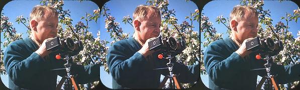 1945 William Gruber at Hood River.jpg