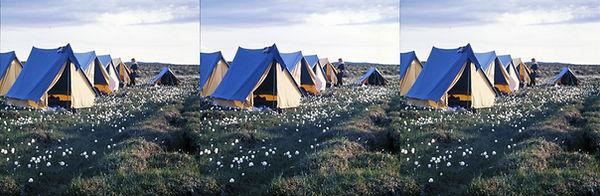 Ferwerda 387-5 1976 IJsland kamp bij Fri