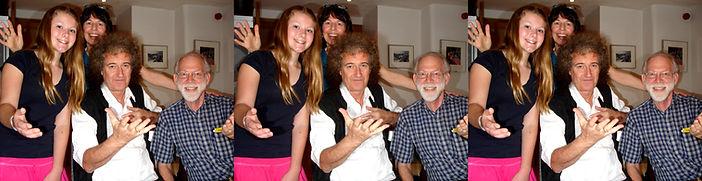2010 Gabriella Susan Brian May & David h