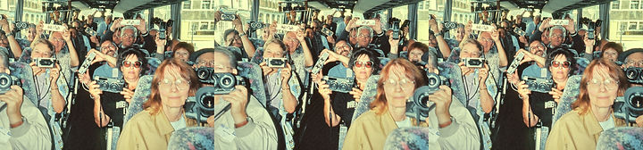 1993 Bus Full of 3D Nuts Brighton UK by