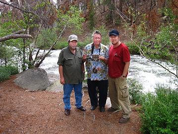 Sheldon Aronowitz, Peter Sinclair and Ga